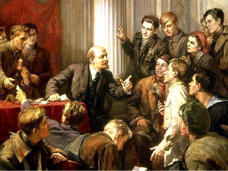 Задача молодёжи — учиться! 100 лет назад на III съезде комсомола выступил В.И. Ленин