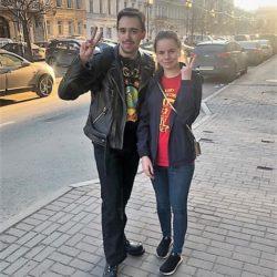 Ленинградские комсомольцы на свободе