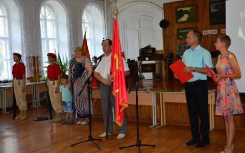 Эстафета Знамени 100-летия Ленинского комсомола: из Ермиши в Кадом