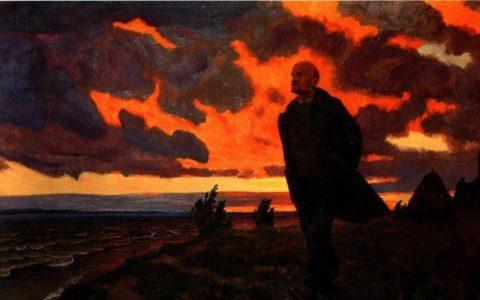 Комсомол помнит и чтит дело Ленина не на слове, а на деле!