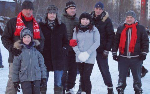 Спортивные новогодние каникулы Рязанского комсомола