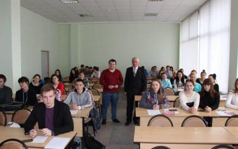 Рязанские студенты на встрече с комсомолом