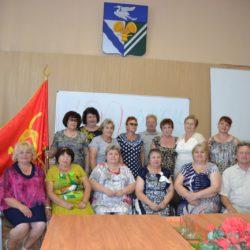 Эстафета Знамени 100-летия Ленинского комсомола: из Кадома в Сасово