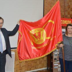 Эстафета Знамени 100-летия Ленинского комсомола: из Спасска в Старожилово
