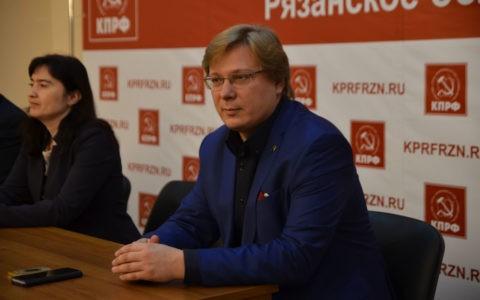 Секретарь ЦК ЛКСМ РФ Ярослав Листов провёл в Рязани лекцию на тему «Фальсификация истории»