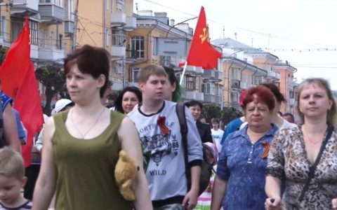 День Победы в Рязани. Репортаж телекомпании «Город»