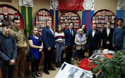 Комсомольцы посетили музеи в Русской классической школе №7 города Рязани