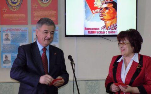 В Сасово открылась выставка к 100-летию Ленинского комсомола