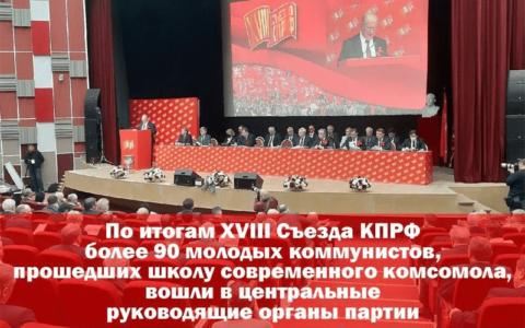 ЛКСМ РФ. XVIII Съезд КПРФ: Курс на омоложение
