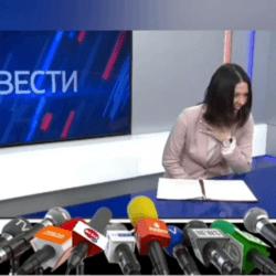 Ведущая новостей расхохоталась, рассказывая про индексацию выплат льготникам