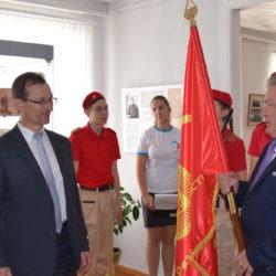 Эстафета Знамени 100-летия Ленинского комсомола: из Шилово в Спасск