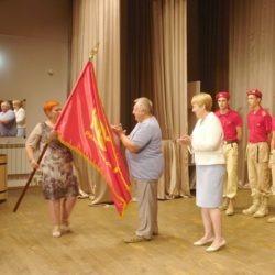 Эстафета Знамени 100-летия ВЛКСМ: из Пителино в Ермишь
